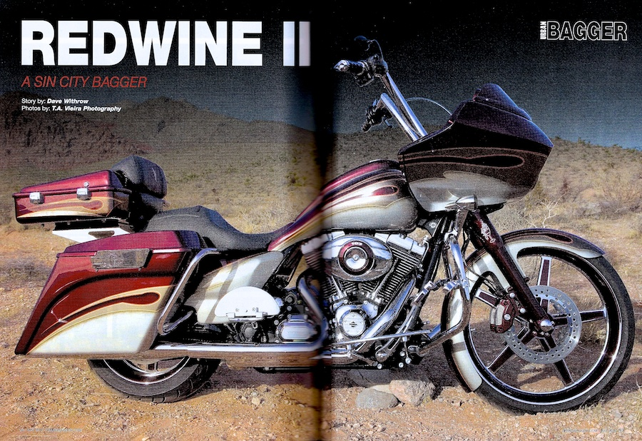 Work Featured in Urban Bagger Magazine