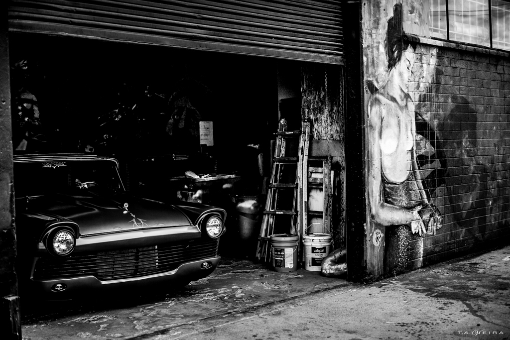 woman-garage