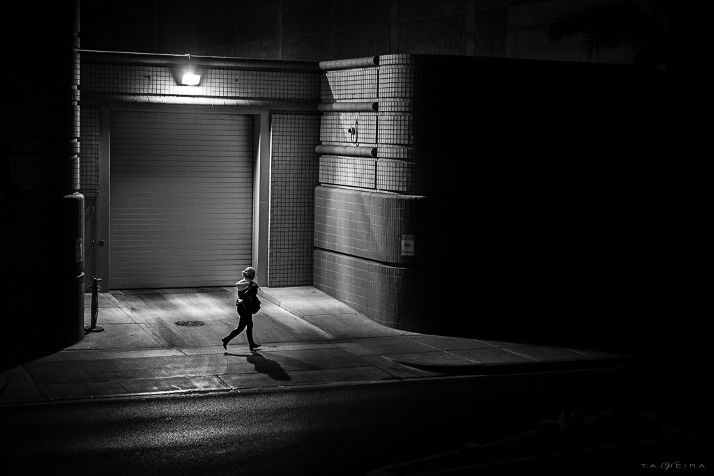 Night Street Photography & Silhouettes