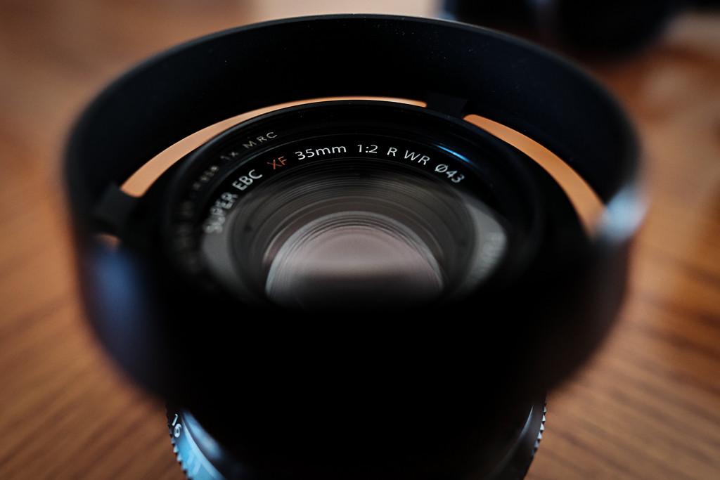 Stylish Alternative Lens Hood for the Fuji XF 35mm f2 – LH-XF35-2