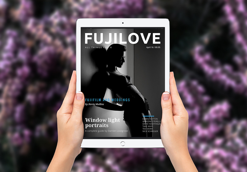 Photo Shoot with the Fuji X-Pro2 and FUJILOVE Magazine