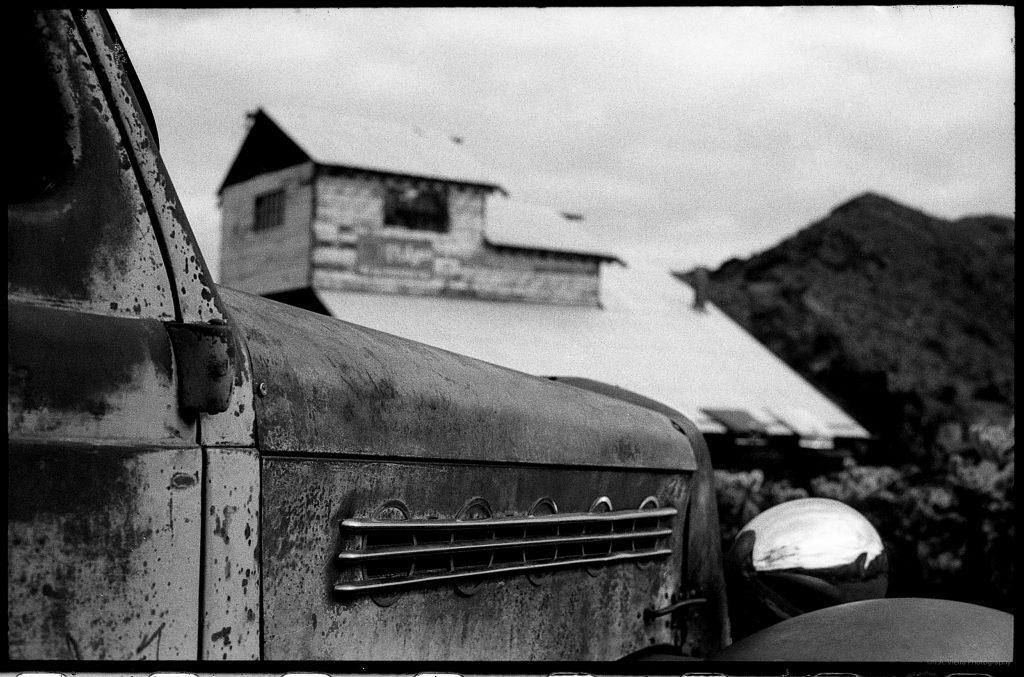 Classic Car Black & White Film Photography Prints